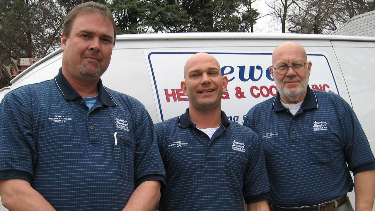 Sewell Heating and Cooling employees