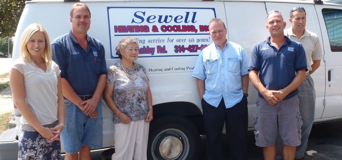 Sewell Heating and Cooling staff